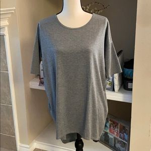 Lularoe gray cute comfy top size XS